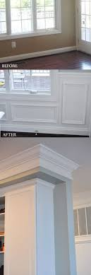 Column Molding Ideas 163 Best Moulding Trim Woodwork Images On Pinterest Crown