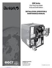 dunkirk xeb manuals dunkirk xeb 4 installation operation maintenance manual