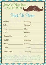 Baby Shower Word Scramble Game Printable Baby Shower GamesFree Printable Mustache Baby Shower Games
