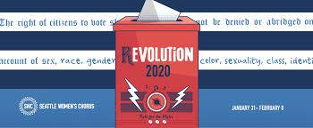 Seattle Womens Chorus Revolution 2020