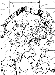 Small Picture Superb GI Joe Renegades Coloring Pages Like Cheap Article
