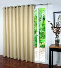 curtains for large sliding glass doors thermal size of door blinds home depot window treatments