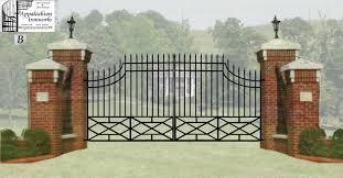 Brick Entrance Designs Driveway Charming Gate Entrance Design Trends Including Signs Solar