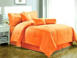fun bedding sets burnt orange and grey comforter set queen within bright comforters an