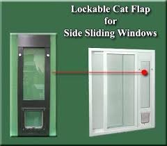 ideal for side sliding window inserts kitty door cat insert