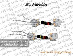 the 50ties linear wiring wiring diagram online 50 s style les paul wiring diagram wiring library 50 s wiring for 4 conductor humbucker