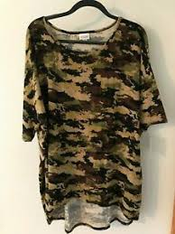 Xl Irma Size Chart Details About Xl Lularoe Irma Beautiful Camo Must Have Unicorn Nwt