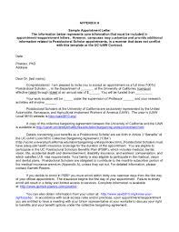 Appointment Letter Templates Free Sample Example Format India