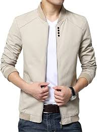 Womleys <b>Mens Autumn Casual</b> Bomber Jacket Coat Cotton Outerwear