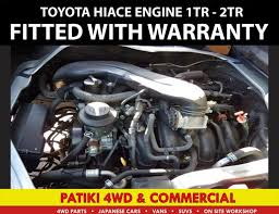 Toyota Hiace 1TR / 2TR Installed with warranty | Trade Me
