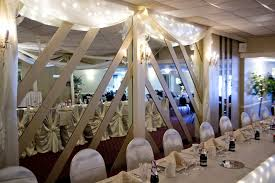 crystal chandelier wedding banquet facility
