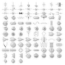 circuit schematic symbols circuit diagrams symbols electrical nevron diagram for net diagram shapes gallery electrical symbols shapes