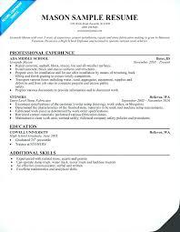 Resume Online Free Download Build Resume Online Resume For Masons