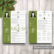2 Page Resume Template Unique Resume Template With Photo Cover Letter Veronica Black