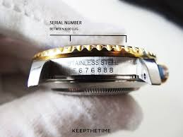 All About Rolex Serial Numbers Keepthetime Watch Blog