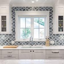 wallpaper backsplash looks like tile