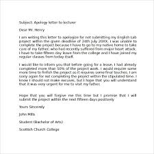 Apology Letter To School 8 Download Free Documents In Pdf