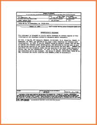 Sworn Statement Example 24 Sworn Statement Army Bank Statement 6