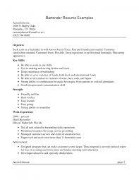 ... cover letter Bartending Resume Sample Alexa Bartending Exampleobjective  for bartending resume Large size ...