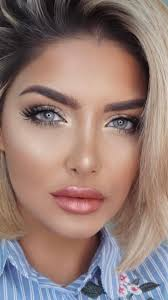 beautiful dewy makeup look