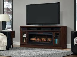 electric fireplace with speakers deerfield cabinet antique brown cherry 42 linear firebox electric fireplace with bluetooth electric fireplace