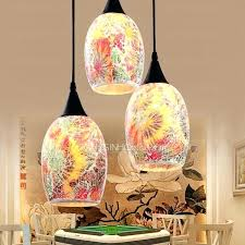 orange pendant light shade glass shades for pendant lights stylish 3 light shade fl church with orange pendant light shade