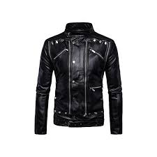 grace mens grace faux fur coats clothes fashion pilot motorcycle pp head skull leather biker jacket