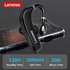 <b>Lenovo HX106 Wireless</b> BT <b>Headphone</b> Single Ear <b>Headset</b>: Buy ...