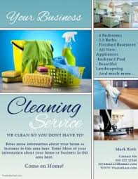 Cleaning Service Templates Service Flyers Omfar Mcpgroup Co