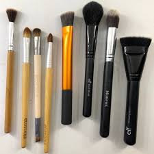 gently used makeup brushes