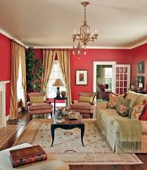 Red Wall Living Room Decorating Red Living Rooms Design Ideas Decorations Photos