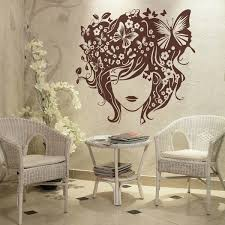 wall stickers for hair salon