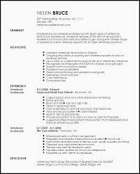 Vet Tech Resume Release Snapshoot Veterinary Technician Sample 9
