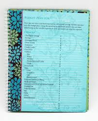 Monthly Bill Organizer Book Budget Organizer Book Under Fontanacountryinn Com