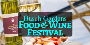 busch gardens food and wine festival 2019