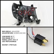 spyder auto toyota tacoma 05 11 projector headlights ccfl halo 2000 toyota tacoma wiring diagram at 05 Tacoma Lights Wiring Diagram