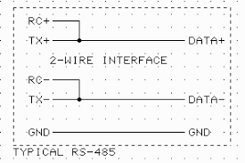 rs485 2 wire wiring diagram wiring diagrams rs485 half duplex wiring diagram diagrams base