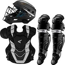 Easton Catchers Gear Size Chart Easton Pro X Baseball Catchers Equipment Series Box Set 2020 Helmet Chest Protector Commotio Cordis Foam Leg Guards Nocsae Approved For