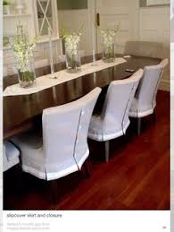 more tailored dining chair covers