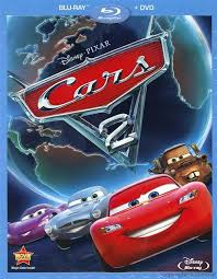 cars 2 the movie cover.  Cars Cars 2 BluRay Review With The Movie Cover