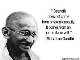 Famous Gandhi Quotes Custom Famous Mahatma Gandhi Quotes About Strength Golfian