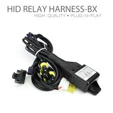 bi xenon hid xenon relay wiring harness high low hid relay bi xenon high low hid xenon relay wiring harness