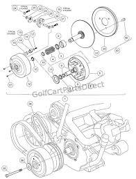 drive clutch club car parts accessories drive clutch