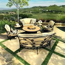 outdoor dining sets with fire pit outdoor fire pit tables with chairs patio furniture fire pit