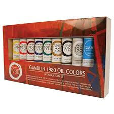 Gamblin 1980 Oil Color Exclusive Set Amazon In Office Products