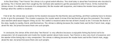 A True Friend essays