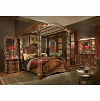 traditional bedroom furniture.  Bedroom Michael Amini Villa Valencia Chestnut Traditional Bedroom Set By AICO Throughout Furniture
