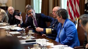 Obama And Cabinet The President Meets With His Cabinet On Bp Spill This Will Be