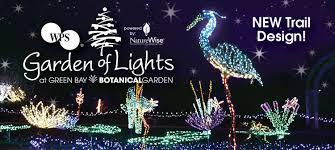 Wps Garden Of Lights Green Bay Botanical Garden Things To Do Garden Events