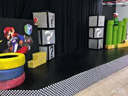 diy mario kart stage design for kids vbs 2019 power up inspiration